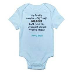 Blue, Black Baby Cotton Romper