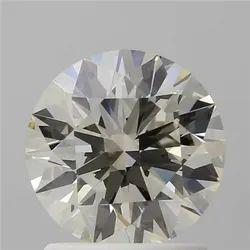 1.34ct Round Brilliant L VVS2 IGI Certified Natural Diamond