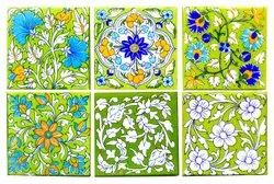Ceramic Decorative Wall Tile, Thickness: 6 - 8 mm, Size: 30 X 45 Cm