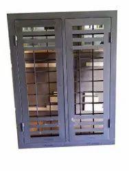 Modern Black (Frame) Rectangular TATA Pravesh Steel Window, For Residential, Size/Dimension: 4 X 5 Feet (wxl)