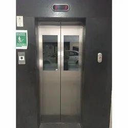 Half Glass Vision Auto Door Elevator