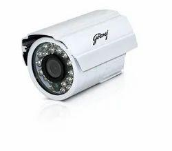 1 MP 1280 x 720 Godrej IR Bullet CCTV Camera