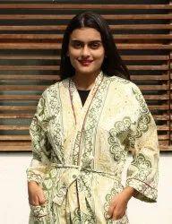 Beautiful Cotton Printed Kimono
