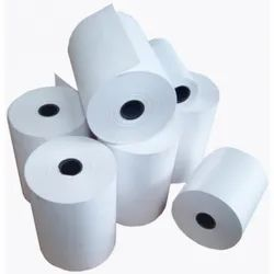 3 Square Plain Thermal Paper Roll 79mm X 50mtrs, GSM: 75 GSM, Packaging Type: Box