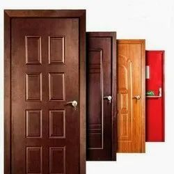 Aluminium Ms Safety Door, For Home, Thickness: 1.2-1.5