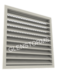 Extruded Aluminum Thin Line Louver