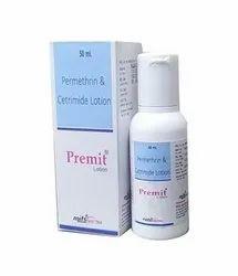 Permethrin 5% + Cetrimide 0.1% Lotion