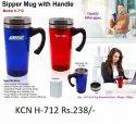 Plastic & Steel Coffee - Tea Mug