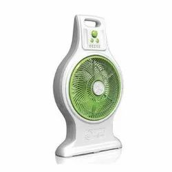 Abs Plastic Table Top Mr. Light Rechargeable Fan, 1000 Rpm