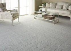 For Home White Luxury Carpet