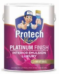 Pink Platinum Finish Interior Emulsion Luxury, For Paint