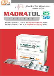 Metoprolol Tartrate 25mg ER