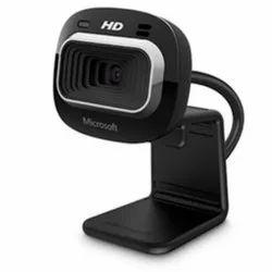 Black Microsoft HD Webcam