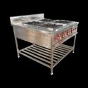 4 Lpg/png Four Burner Cooking Range With Oven