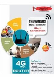 Onepot Wireless or Wi-Fi 4G WiFi Router