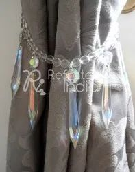 Crystal  Beaded Tieback
