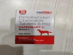 Pimobendan 5mg & 1.25mg  Chewable Tablet  ( Vet )