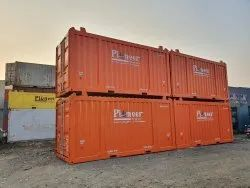 Dnv 2.7-1 Certified 20 Feet Open Top  Container Rental For Offshore