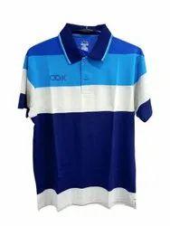 Mens Striped Cotton T Shirt
