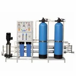Reverse Osmosis Carbon Steel Water Purification System, For Industrial, Water Storage Capacity: 1000 LPH