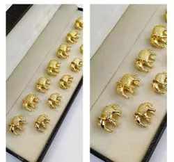 Brass Round Garments Heritage Button, Packaging Type: Packet