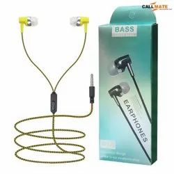 CallMate Assorted Set-06 Wired Earphone