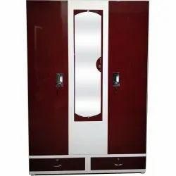 3 Door Alwin Lock Domestic Steel Almirah