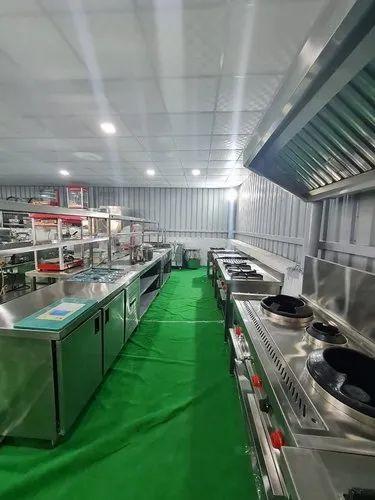 Commercial Kitchen Consultant Cloud Kitchen Designer Manufacturer From New Delhi