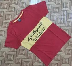 Hosiery Cotton Casual Wear Kids Printed Tshirt, Size: 3 to 8 yrs
