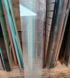 5mm Decorative Lining Glass, Size: 6 Feet