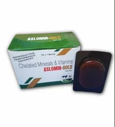 chelated vitamins and minerals bolus