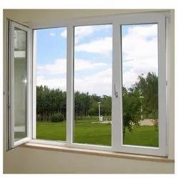 White UPVC Casement Windows, For Home
