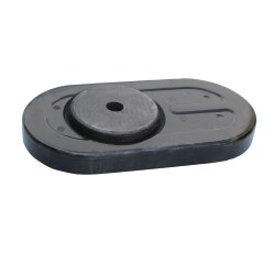 Heat Resistant Q1 Slide Gate Plate Refractory
