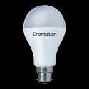 Round Cool Daylight 12w Crompton Regular Lamp, For Office, Base Type: B22