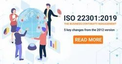 ISO 22301 Business Continuity Management Systems.