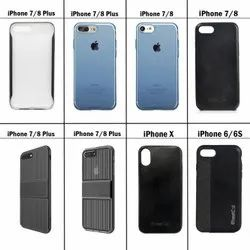 Back Cover Rugged & Transparent Baseus Apple iPhone 6/6S/7/8/Plus/X Cases, For Phone Protector, Size: Standard