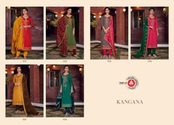 Pant Formal Wear Beautiful Jam Silk Embroidered Suit
