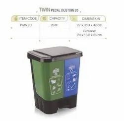 Plastic Segregation Dustbin
