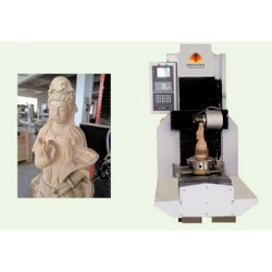 Single Head 5 Axis CNC Statue Engraving Machine