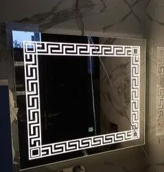 Golden LED Mirror