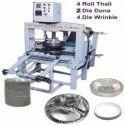 Semi Automatic Double Die Plate Machine