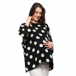 Polka Dots Designer Maternity Top