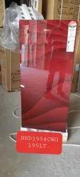 Red Haier Single Door Refrigerator, Model Name/Number: HRD1954CWG, Capacity: 195Lt