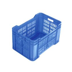 Virgin Plastic 25kg Vegetable Crate 505x318x280mm