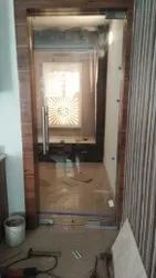 Concept Designs Hinged Toughened Glass Door, For Home, Thickness: 8 Mm