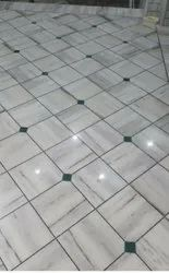 Residential Building Tile/Marble/Concrete Marble Tile Flooring Services, For Indoor, Waterproof