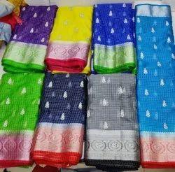 organza saree fabric