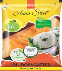 Idli Dosa Batter Packaging Pouches