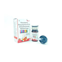 Paracetamol + Phenylephrine + Cholpheniramine Maleate Drop