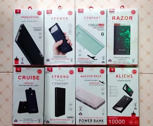 R-NXT Power Bank 10000mAh With Box Packing